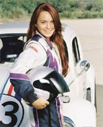 Lindsay Lohan plays Maggie, who rescues Herbie from the scrap heap