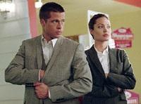 Brad Pitt and Angelina Jolie play husband-wife assassins