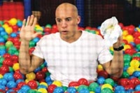 Vin Diesel's having a ball in 'The Pacifier'
