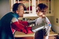 Kurt Russell is the superhero dad, Michael Angarano the not-yet-super son