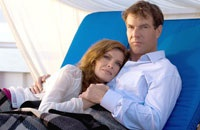 Rene Russo and Dennis Quaid play the mom and dad