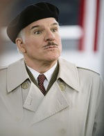 Steve Martin attempts to reprise the role made famous by Peter Sellers