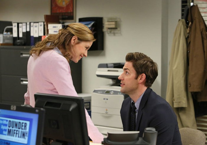 'The Office' Shows Even TV Romance Isn't Picture-Perfect