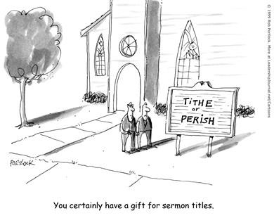 Sermon Title: Tithe or Perish