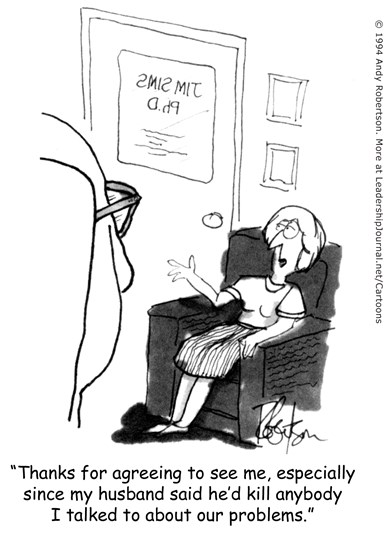 Dangerous Marital Counseling