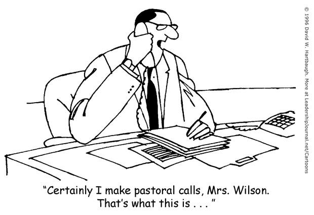Pastoral Calls?