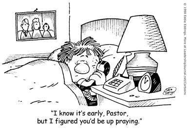 Up Early Praying