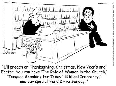 Assigning Tough Preaching Topics