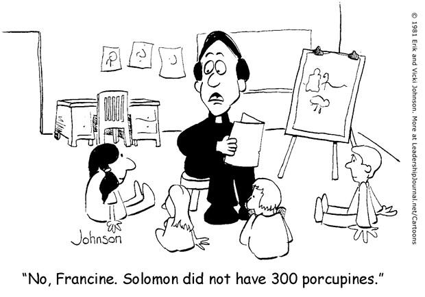 Solomon's Porcupines