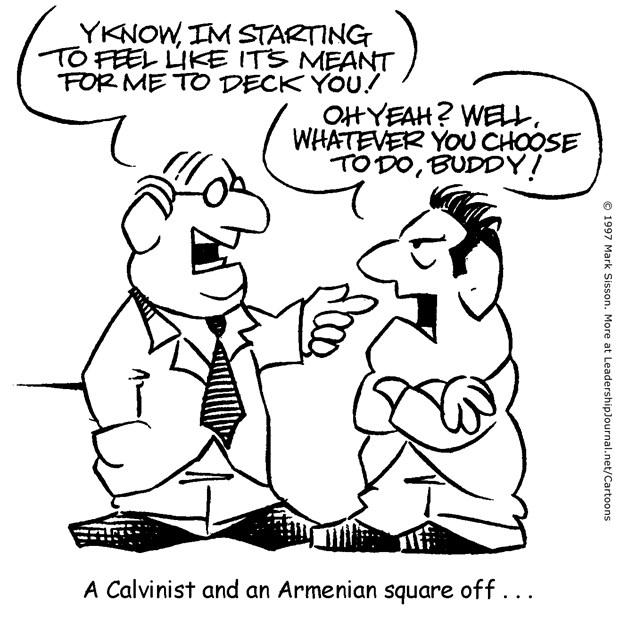 Calvinist vs. Armenian