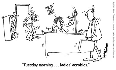 Aerobics in the Office