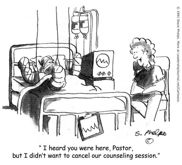 Selfishly Using the Pastor