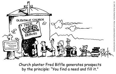 Church Planting Through Needs