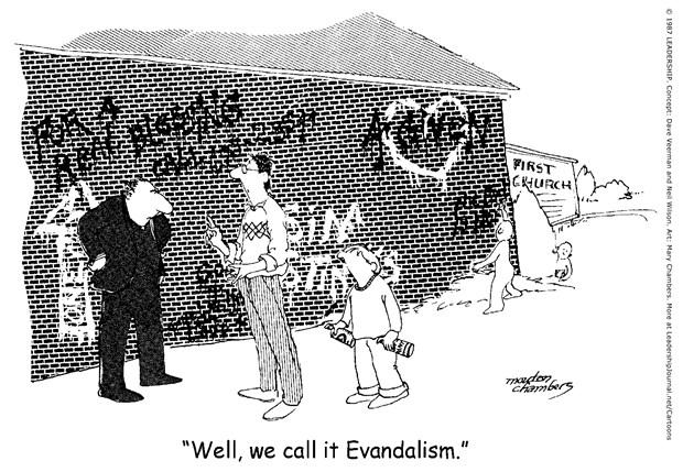 Evandalism