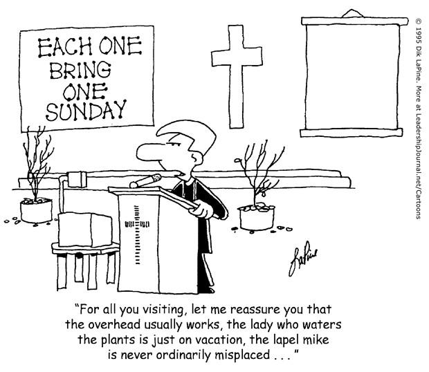 Murphy's Law on Outreach Sunday