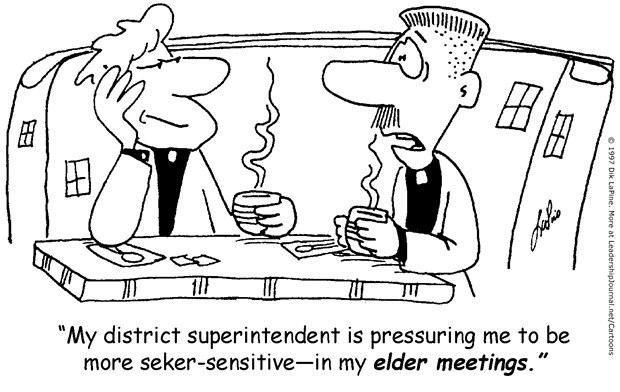 Seeker-sensitive Elder Meetings