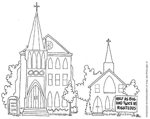 Little, Self-Righteous Church