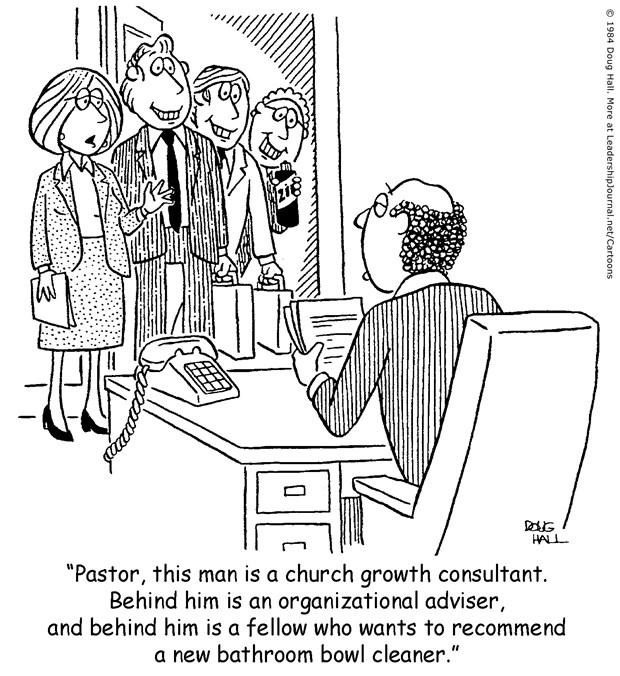No Lack of Consultants