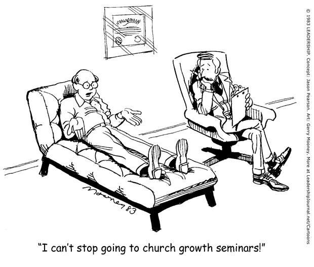 Addicted to Church Growth Seminars