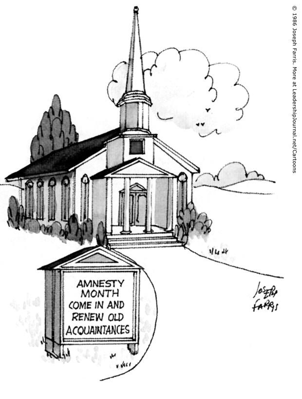 Church Offers Amnesty Month