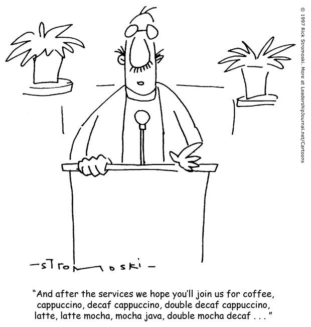 Coffee Shop Fellowship