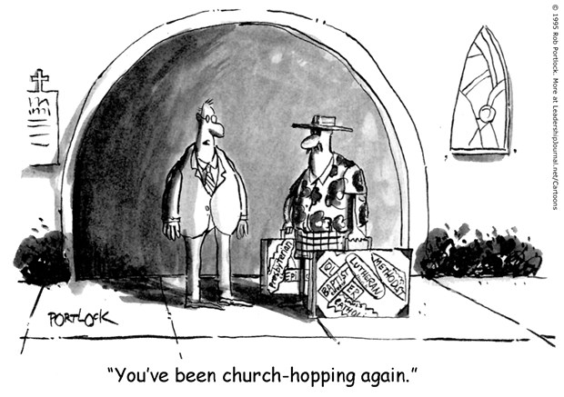 Signs of a Church-hopper
