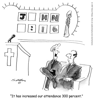 Game Show Church Attraction