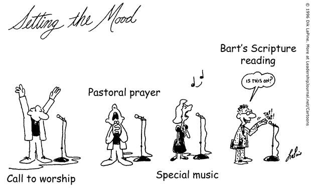 Destroying the Worship Mood