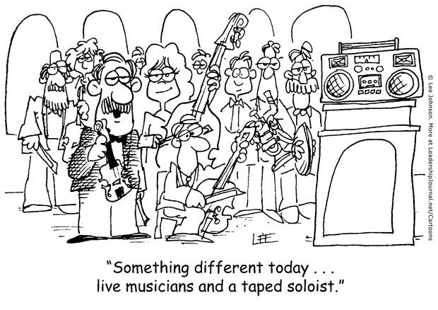 Variety in Worship Music