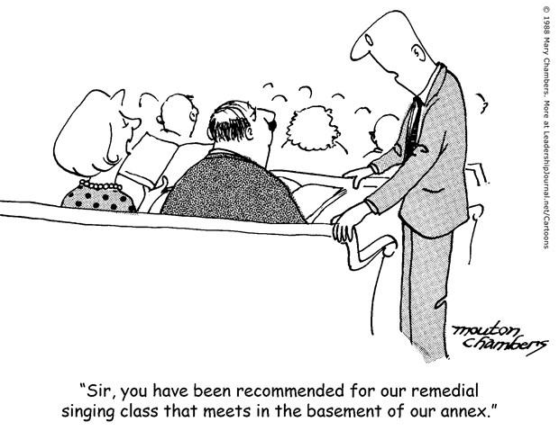 Poor Singers in the Congregation