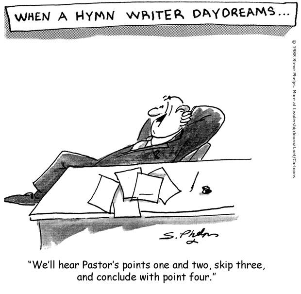 A Hymn Writer's Daydreams
