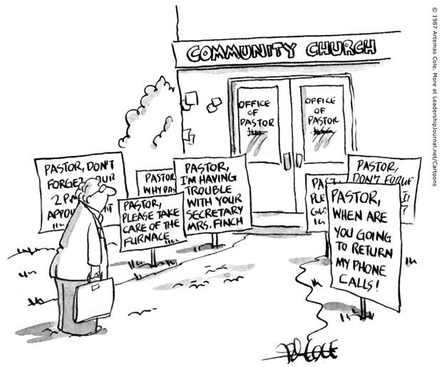 Urgent Demands of Ministry