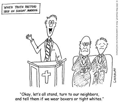 Youth Pastor Leading Worship