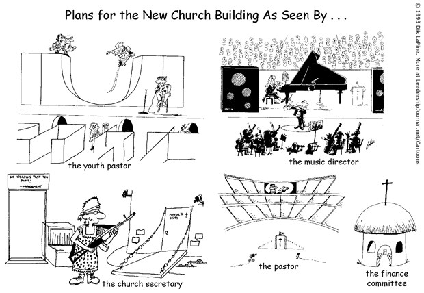 Different Blueprints for Church
