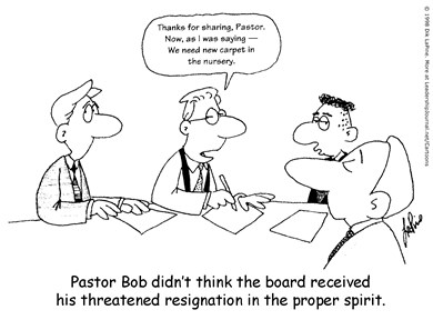 Board Indifferent to Pastor
