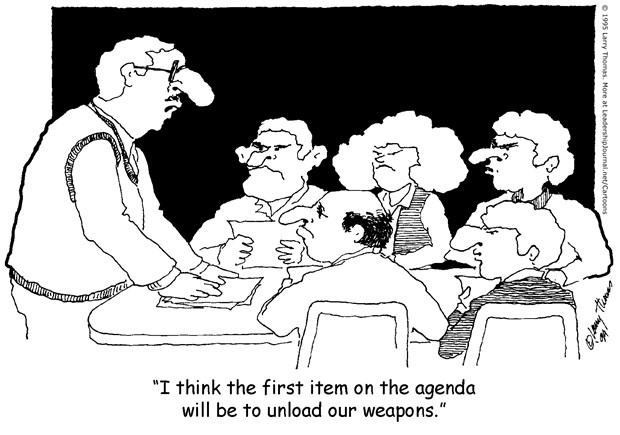 Heavy Church Board Conflict