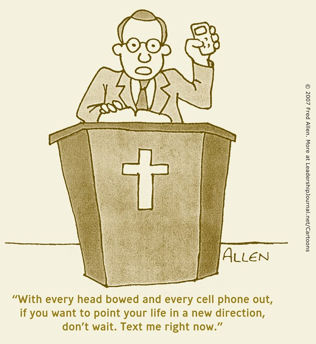 Text Your Response to Altar Call