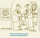 Today's Sermon: Dealing with Failure