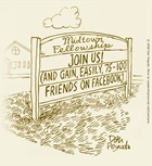 Come to Church, Gain Facebook Friends