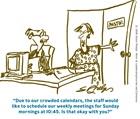 Church Staff Meetings