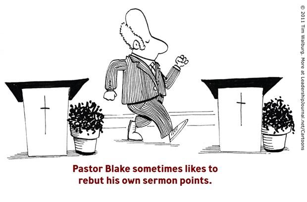 Pastor Blake Rebuts His Sermon