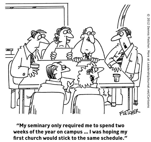 Seminary vs. Church Schedule