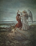 Jacob Wrestling with Angel