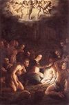 Nativity, Giorgio Vasari