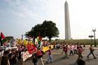 Protestors, War