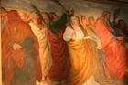 The Entry of Christ into Jerusalem Fresco