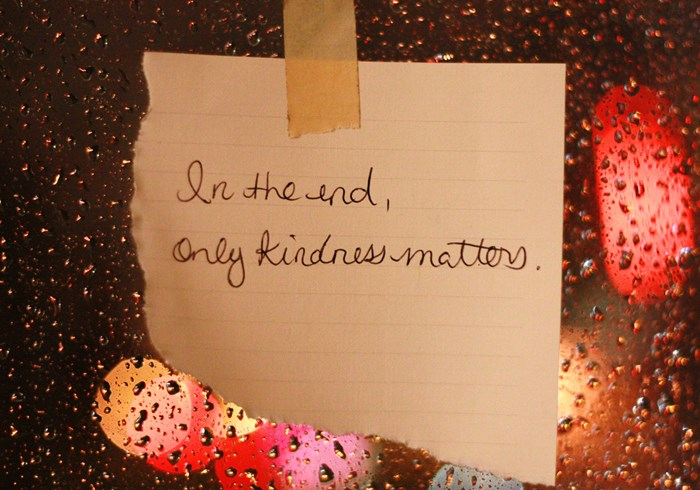 The Misguided Theology of Kindness