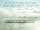 Isaiah 55:9