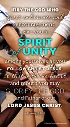 Romans 15:5-6