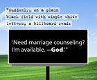 God's Marriage Counseling